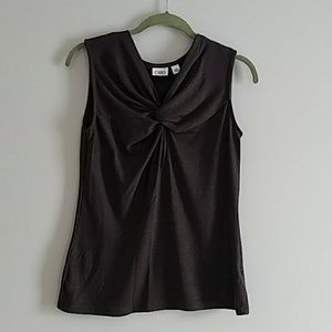 Cato Knotted Front Top